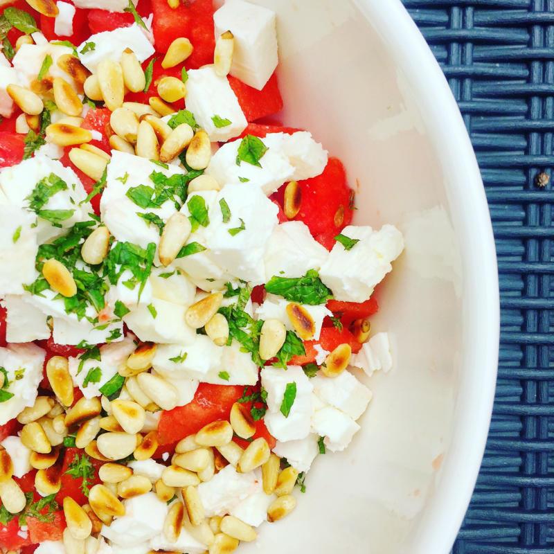 Bunt, frisch, lecker - perfekter Sommersalat!